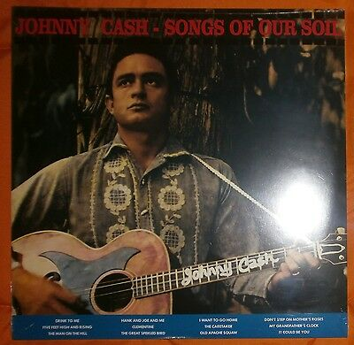 "JOHNNY CASH Songs of our soil 1959/2014 Lp vinilo 12"" NEW SEALED"