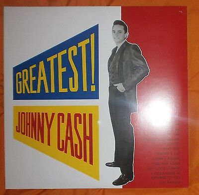 "JOHNNY CASH Greatest! 1959/2014 Lp vinilo 12"" NEW SEALED"