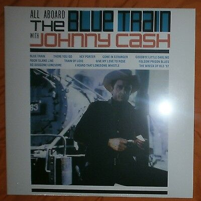 "JOHNNY CASH All aboard the blue train 1963/2014 Lp vinilo 12"" NEW SEALED"
