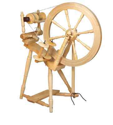 Kromski Prelude Spinning Wheel Unfinished Free Shipping Special  Bonus