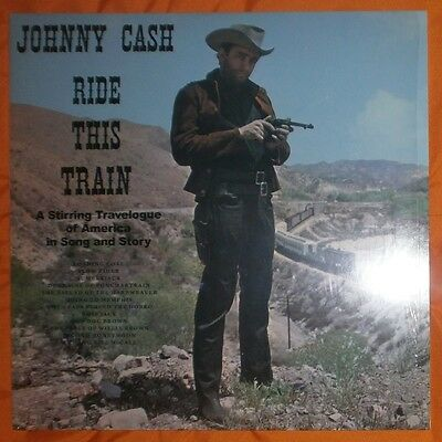 JOHNNY CASH Ride this train (A stirring travelogue) 1960/2014 Lp vinilo NEW/MINT