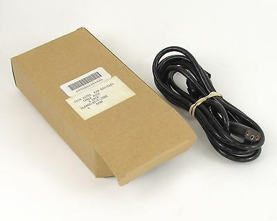 NEW Belden 800-5121 Vintage Oval AC Power Cord - 3-Prong, 7.5 Ft.