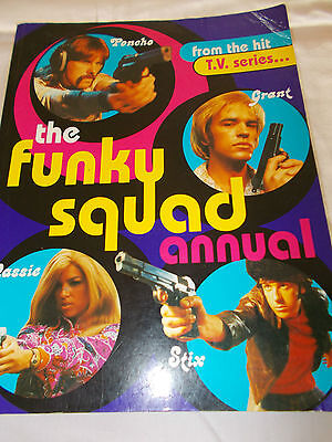 Funky Squad Annual - 172 Pages - Soft Cover - Tv Series - Cassie - Stix - Poncho