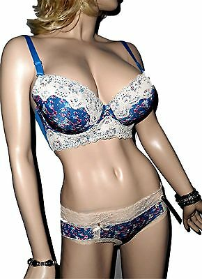 Youngster Floral Convertible Bra/ Hipster Panty Set or Select Bra Only