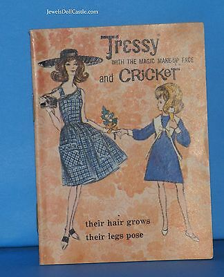 American Character Tressy Booklet from 1965 Near Mint/Mint Condition