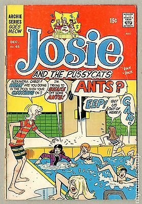 Josie and the Pussycats (1963 1st Series) #45 GD 2.0