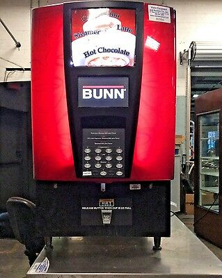 Bunn IMIX-14 Cappuccino Machine Hot Chocolate Beverage Dispenser w/ 6 Hoppers