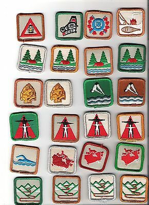 Scouts Canada - lot of 24 Scout Merit Badges