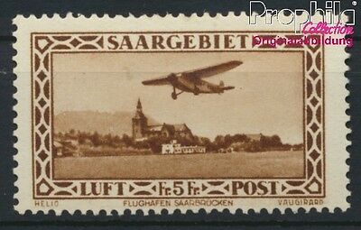 Saar 159 with hinge 1932 Flugpostausgabe (8882982