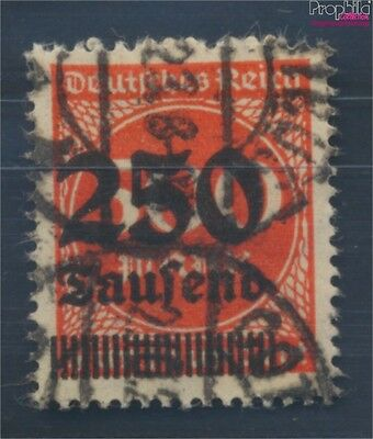 German Empire 296II proofed used 1923 Hyperinflation (8112109