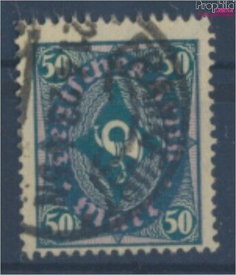 German Empire 209Y proofed used 1922 Horn design (8162437