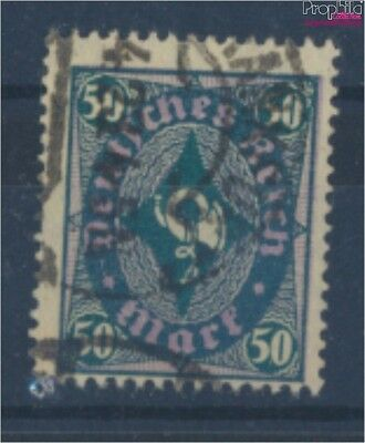 German Empire 209Y proofed used 1922 Horn design (8162438