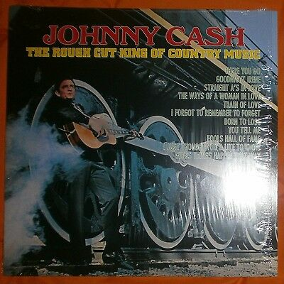 "JOHNNY CASH The rough cut King of country music 1970 Re 2014 Lp vinilo 12"" MINT"