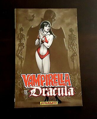 Vampirella vs Dracula TPB graphic novel comic book dynamite(collects issue #1-6)