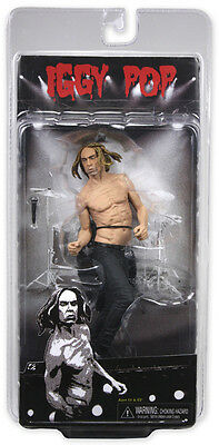 "IGGY POP - Iggy Pop & The Stooges 7"" Action Figure (NECA) #NEW"