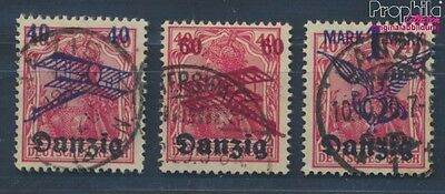 Gdansk 50-52 proofed fine used / cancelled 1920 Airmail (8271019