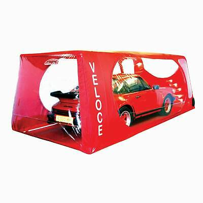 Carcoon Veloce Indoor Car/Vehicle Storage Cover System - Size Medium - Red
