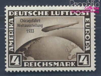 German Empire 498 proofed MNH 1933 Count Zeppelin (8291736