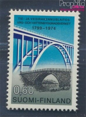 Finland 759y MNH 1974 Roads-, water construction (8470385