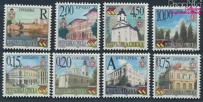 Serbian Republic bos.-h 111-118 MNH 1999 Cityscapes (8610115