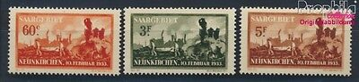 Saar 168-170 unmounted mint / never hinged 1933 Accidental explosion (8777319