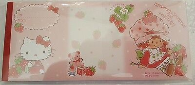 Sanrio Hello Kitty Strawberry Shortcake Fold Notes