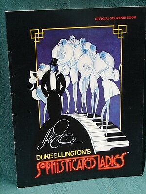 Duke Ellington's Sophisticated Lady w Gregory Hines 1981 souvenir program book