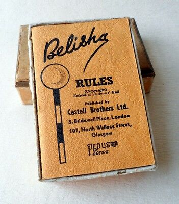 Belisha Card Game - Vintage Boxed Game - Pepys series - from England Circa 1930s