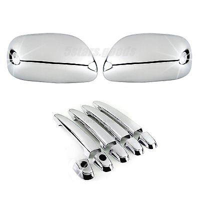Accessories Chrome Side Mirror Door Handle Covers For Toyota Camry