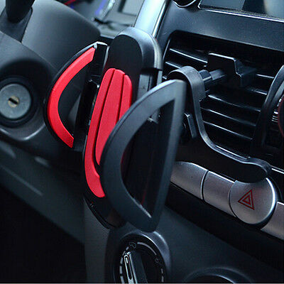 Universal 360° Car Air Vent Mount Holder Stand For iPhone Samsungs Mobile Phone