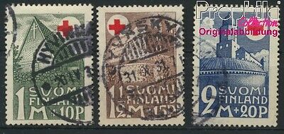 Finland 164-166 (complete issue) fine used / cancelled 1931 Red Cross (8882603