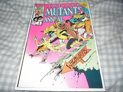 The New Mutants Annual #2 (Jan 1986, Marvel) NM- 9.2 1ST PSYLOCKE APPEARANCE