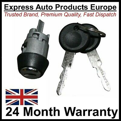 Ignition Starter Lock Barrel Cylinder & Keys early VW AUDI SEAT SKODA
