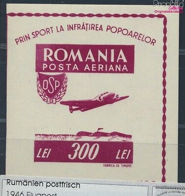 Romania Block33 unmounted mint / never hinged 1946 Airmail (8688287