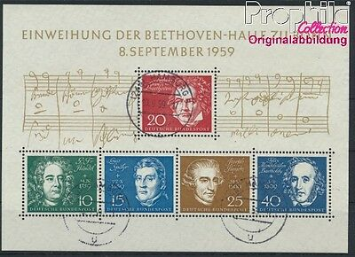 FR of Germany block2 used 1959 Beethoven (8867349
