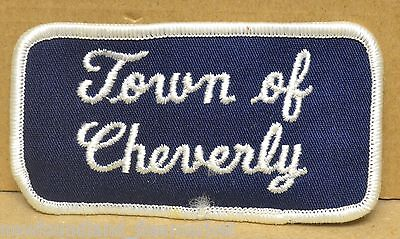 Town of Cheverly Maryland ?? USA Patch #21