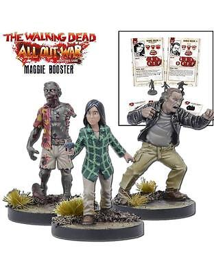 Mantic Games The Walking Dead BNIB Miniatures Booster Maggie (TWD) MGWD111