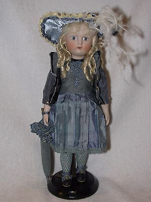 "11"" Artist Made Reproduction All Bisque Doll"