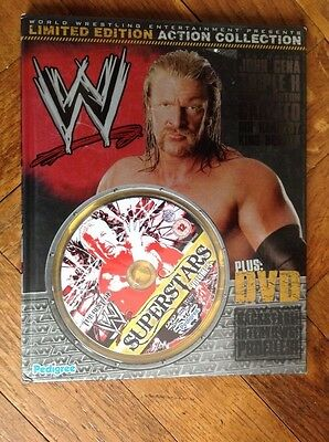 World Wrestling, Super Stars Vol 5, Book And Dvd,limited Edition 2008