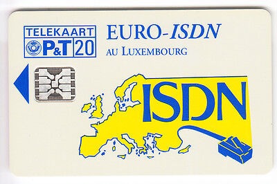 Europe  Telecarte / Phonecard .. Luxembourg 20U Sc5An Isdn Cp03 12/93 Chip/puce