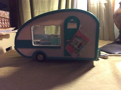 """Lori Our Generation Rv Camper Glamper And Convertible Car For 6"""" Doll"""