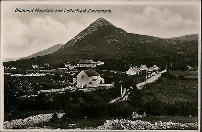 P2716 Letterfrack. Village and Diamond Hill. Donegal