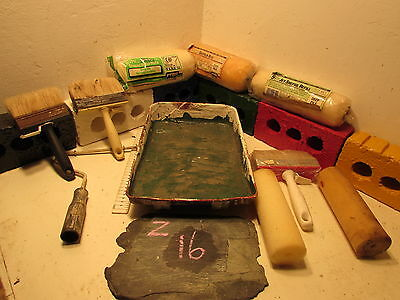job lot paintbrushes / rollers.   Z 16 + Z 17