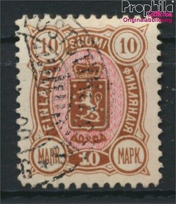 Finland 34A fine used / cancelled 1889 Crest (8883185