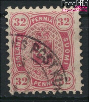 Finland 18A y fine used / cancelled 1875 Crest (8883191