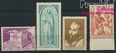 Greece 578-581 unmounted mint / never hinged 1951 Acts Paulus (8882651