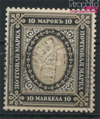 Finland 60C A fine used / cancelled 1901 Russian State Emblem (8883178