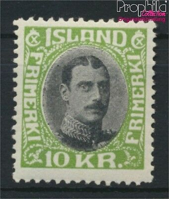 Iceland 167 with hinge 1931 Christian (8883115