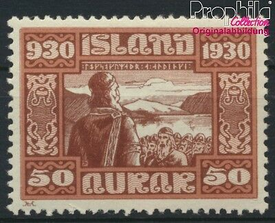 Iceland 135 unmounted mint / never hinged 1930 millennium (8883147