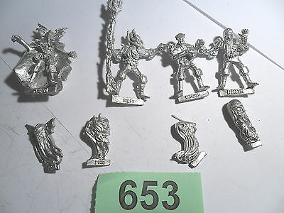 Judge Dredd Miniature Game Dark Judges Death Fear Fire Mortis 2000 AD Lot 653